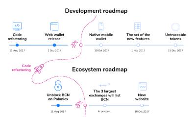 Характеристика работы с BCN